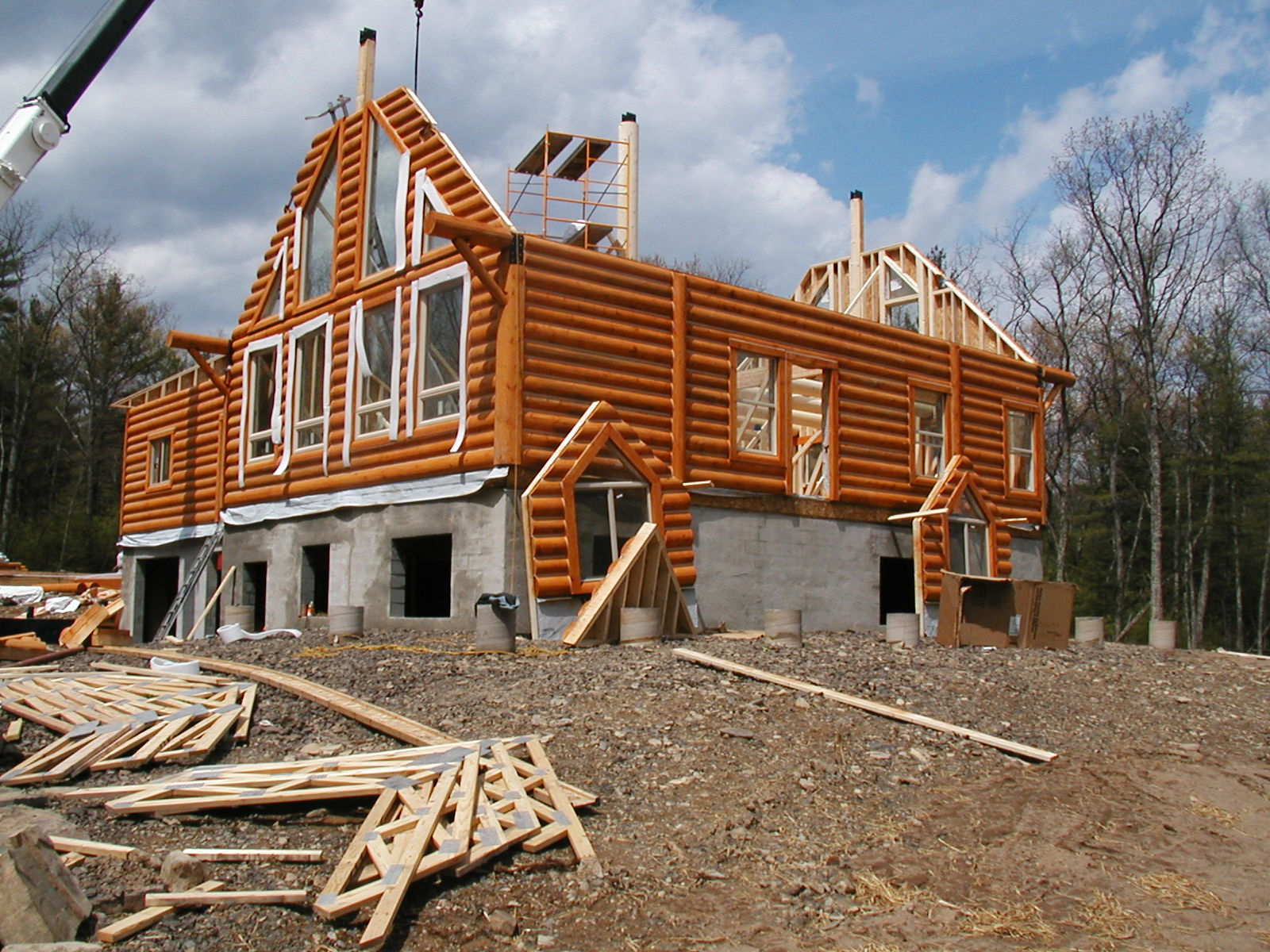 Made to Measure Laminated Log Homes